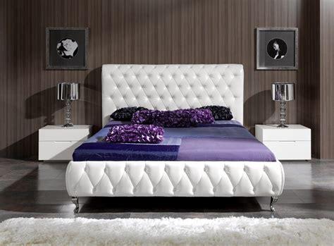 cama moderna cama moderna tapizada blanco bremen camitas