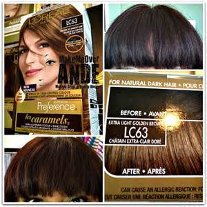 loreal caramel hair color oreal les caramels hair color brown hairs