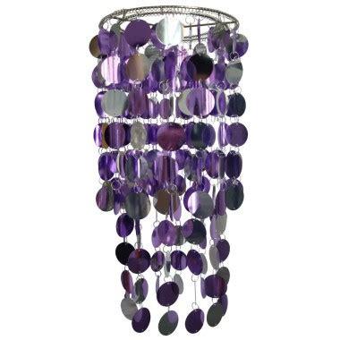 3 watt led ceiling l pendant l shade purple silver
