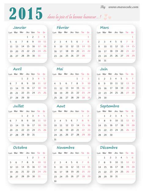 Calendrier Is 2015 Calendrier 2015 224 Imprimer Marocute