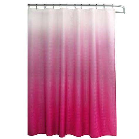 hot pink shower curtain hooks hot pink shower curtain rings curtain menzilperde net