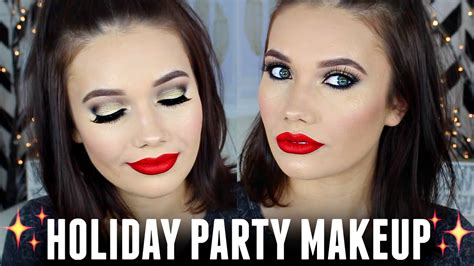 eyeshadow tutorial gwen stefani palette holiday party makeup tutorial ud x gwen stefani palette