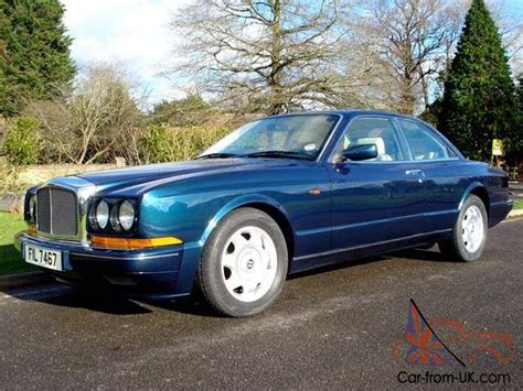 bentley turbo r coupe 1992 bentley continental r turbo 2 door coupe peacock blue