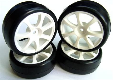 Rubber Tire Tyre 110 Onroad Touring Car 8007 F Hsp Hpi Kyosho Tamiya teowers 1 10 touring car rubber tire set 7 strokes pre