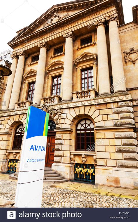 house insurance aviva surrey house aviva insurance norwich union building facade front stock photo royalty