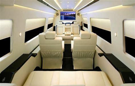 mercedes benz van shocking luxury interior xcitefunnet