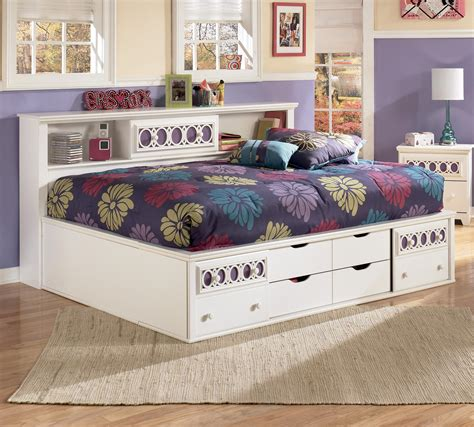 boston store bedding signature design by ashley zoey full storage daybed
