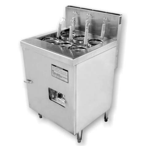 Counter Kitchen Design Stainless Steel Induction Noodle Boiler Kitchentech