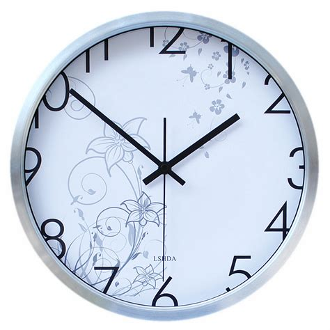 bedroom clock force of mute wall clock fashion creative wall clock