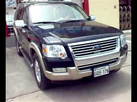 venta de carros usados en ecuador autos usados ecuador venta ford explorer eddie bauer