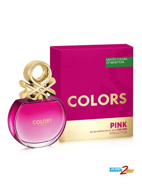 Benneton Pink 100ml united colors of benetton colors de benetton pink perfume
