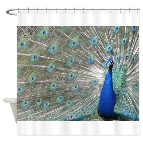 peacock kitchen curtains peacock shower curtain by barefacedpics
