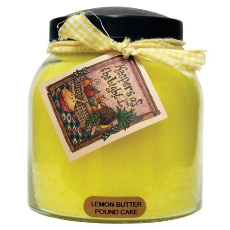 keepers of the light candles lemon butter pound cake 34 oz papa jar keepers of the