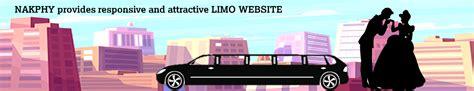 limousine website limo website design limousine web design taxi website