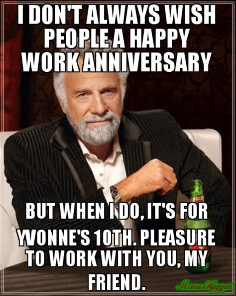10 Year Anniversary Meme - 10 year work anniversary meme pictures to pin on