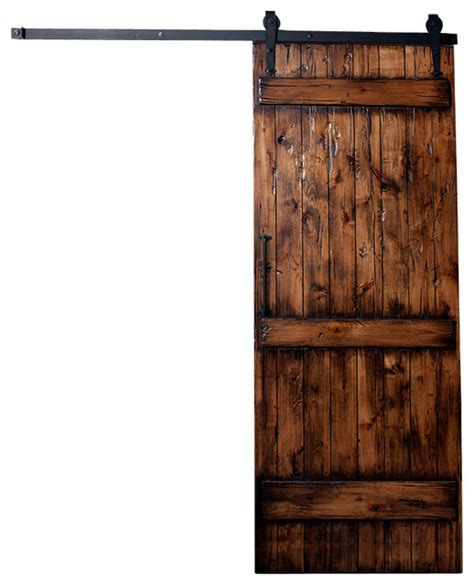 Rustic Interior Door Ranch Barn Door Distressed Rustic Interior Doors By Rustica Hardware