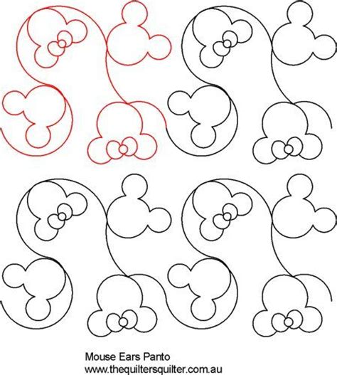 quilting templates 25 unique disney quilt ideas on mickey mouse