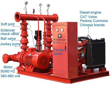 Pompa Jockey Hydrant nfpa 20 diesel electric jockey controller packaged
