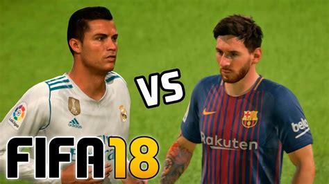 barcelona fifa 18 real madrid vs barcelona fifa 18 santiago bernab 233 u doovi