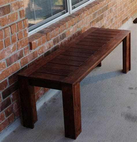 simple outdoor bench ana white simple outdoor bench diy projects