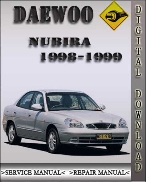 online auto repair manual 2002 daewoo nubira on board diagnostic system 1998 1999 daewoo nubira factory service repair manual download ma