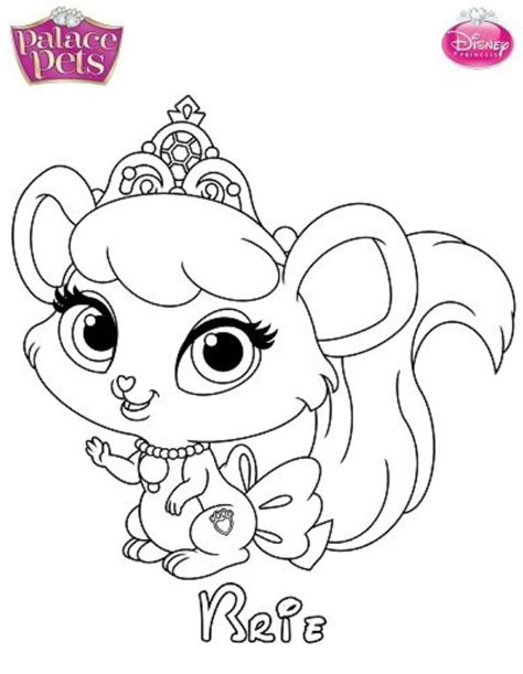 Kids N Fun Com Coloring Page Princess Palace Pets Brie Princess Palace Pets Pictures Free Coloring Sheets