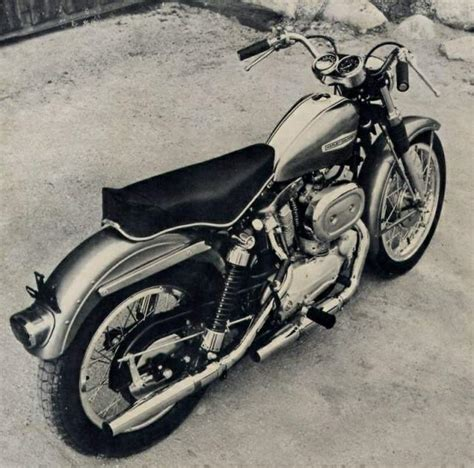 harley motors through the years sportster history