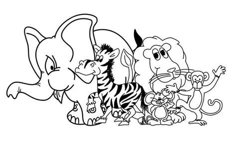 imagenes de animales juntos para colorear 60 im 225 genes de animales para colorear dibujos colorear