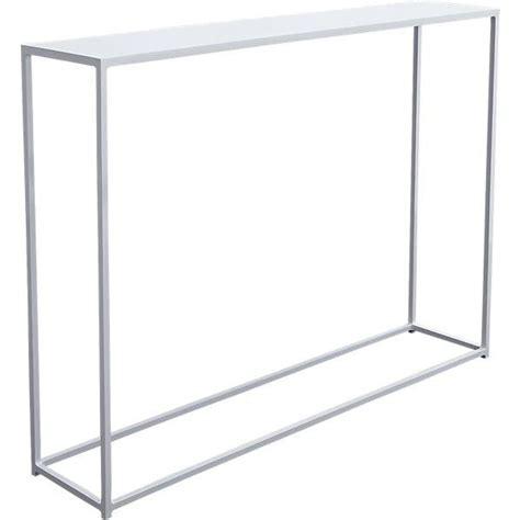 Narrow White Console Table Mini White Console Table