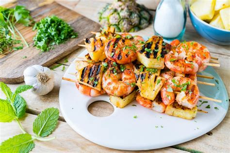 clean for every season fresh simple everyday meals books grilled shrimp pineapple kabobs for tropical clean