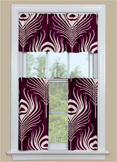 Plum Kitchen Curtains Window Kitchen Curtain In Paul Plume Plum