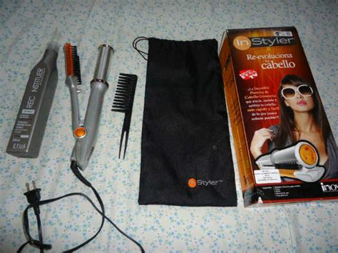 Original Catok Rambut 2in1 Merek catokan rambut instyler hair iron rotating 2in1 murah