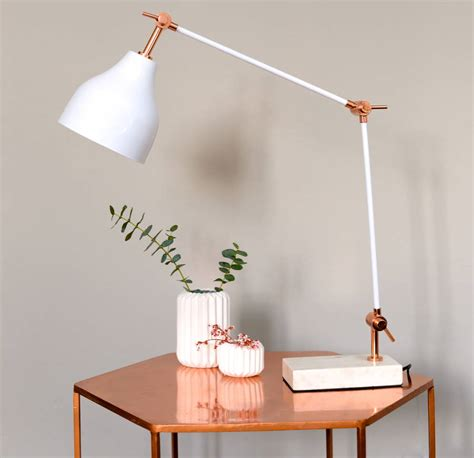 Bedside Reading Lamp by Stone And Copper Angled Desk Lamp By The Forest Amp Co