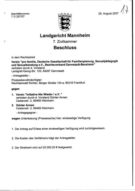 Antrag Briefwahl Mannheim Pro Familia Profa Sexualitaet Kondome Abtreibung Mord Schwanger