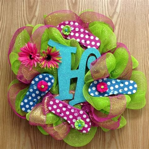 ideas for flip flop craft projects 17 best images about flip flop wreaths on deco