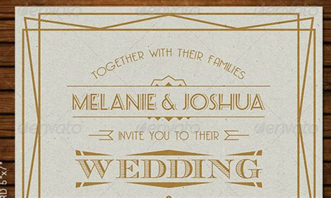 deco wedding invitations templates 48 best wedding invitation templates weelii