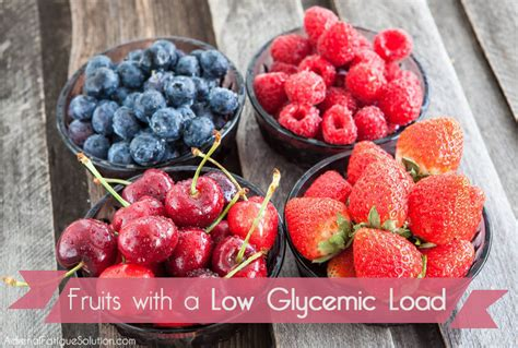 fruit glycemic index which fruits the lowest glycemic load