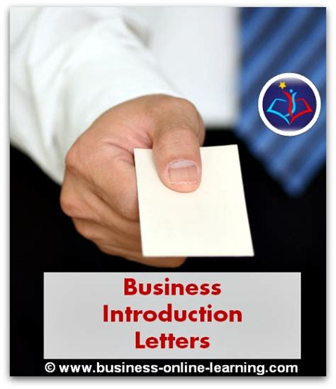 Business Introduction Letter Definition business introduction letter