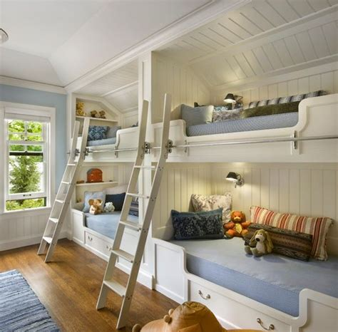 bunk rooms bunk beds for four wonderful space saving additions to