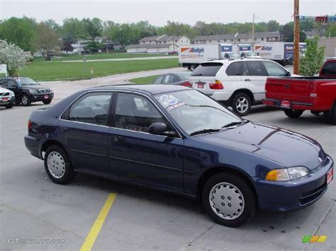 1995 honda civic colors 1995 harvard blue pearl honda civic lx sedan 28936794