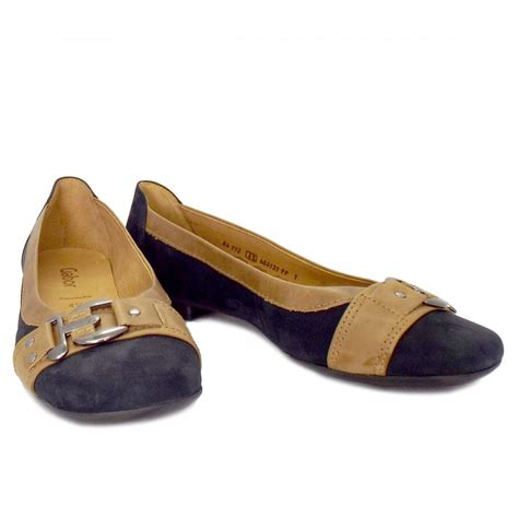 montana shoes gabor shoes montana slip on pumps in blue