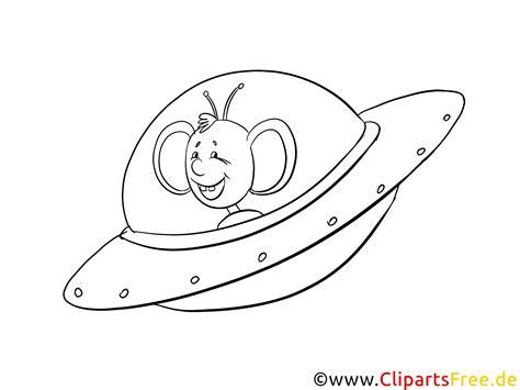 ufo ausmalbild