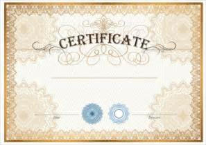 certificate template blank 12 sle blank gift certificate templates sle