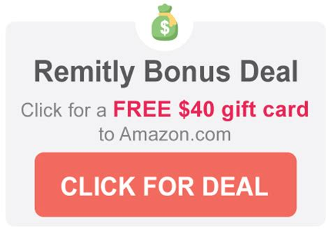 Remitly 40 Gift Card - remitly promo code link get a free 40 gift card bonus