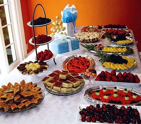 What To Serve In A Baby Shower by What Should You Serve Food For Baby Showers Baby Shower