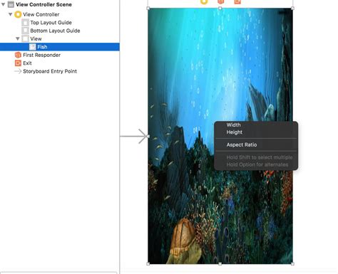 background xcode xcode background image does not look fit in simulator