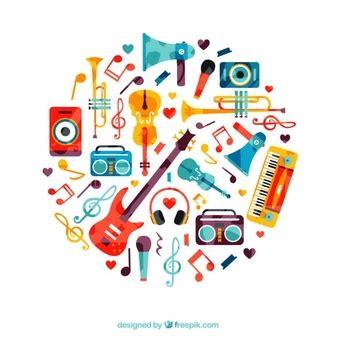 imagenes para logos musicales instrumentos musicales fotos y vectores gratis