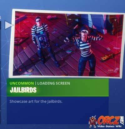 fortnite battle royale loading screen jailbirds orcz