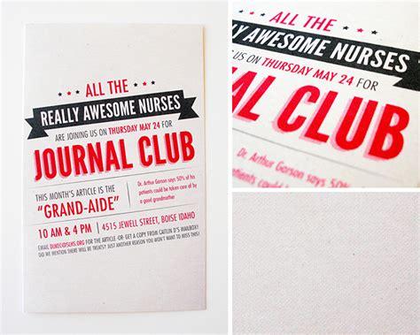 journal club layout kimberly church journal club flyers