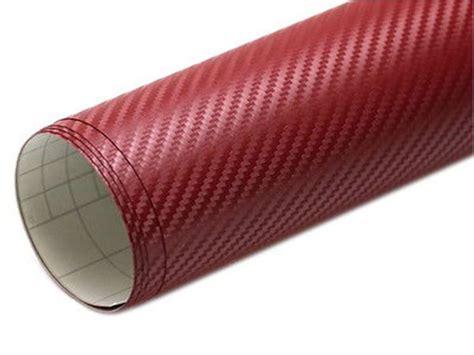 Folie Carbon Visiniu by Autocolant Carbon Cu Textura 3d De Culoare Vișinie